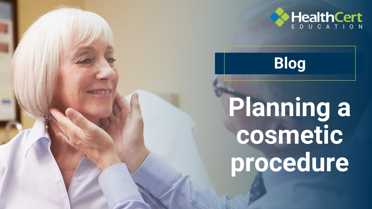 planning a cosmetic procedure